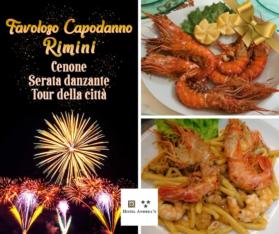 Offerta Capodanno 2021 Rimini con cenone e piatti tipici romagnoli